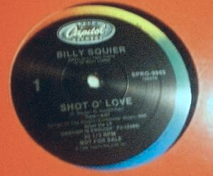 "Billy Squier - Shot O' Love - Capitol SPRO-9902 - PROMO - 12"" Single"