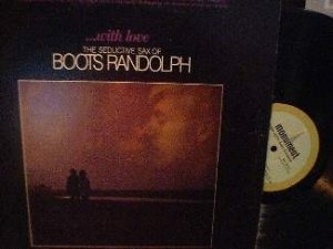 Boots Randolph - WITH LOVE - Monument Records SLP 18111