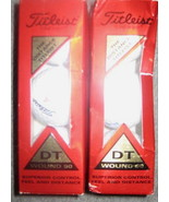 2 pks of 3 Titleist DT Wound 90 Golf Balls- #4 NIB - $7.99