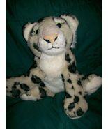 "The Petting Zoo Plush 9"" Stuffed Snow Leopard Cub Doll Toy - $5.99"