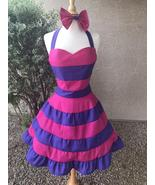 Cheshire Cat Cosplay Costume Apron Dress for Girls Adult Women - $69.00