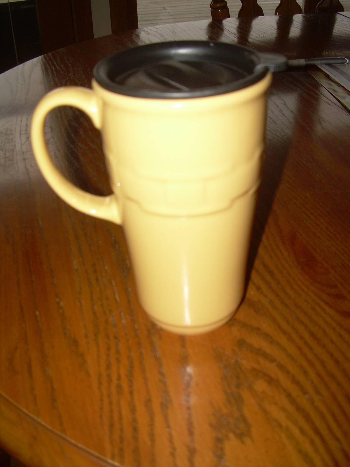 Longaberger Pottery Travel Mug