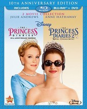 The Princess Diaries: Two-Movie Collection 10th Anniversary [DVD + Blu-ray]