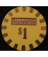 """$1.00 Casino Chip From: """"Harrah's Hotel & Casino""""- (sku#2354) - $4.89"""