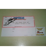 Tony Stewart Autographed IRL Indy racing ticket stub nascar  - $9.99