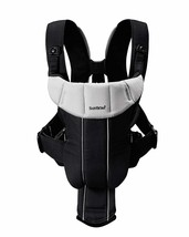 BABYBJORN Baby Carrier Active Black Silver New - $131.97