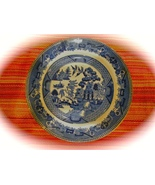 Buffalo Pottery BLUE WILLOW Bread Plate #1908 923227 - $9.99