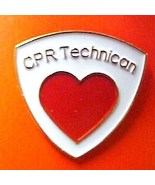 CPR Technician Tech Medical Emblem Lapel Collar... - $8.97