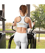 SmashXtreme Padded Sports Bra - White - $38.95