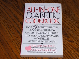 The All In One Diabetic Cookbook - $7.97