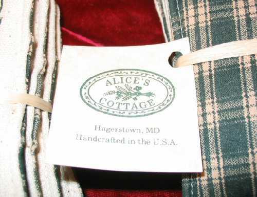 8 Alice's Cottage Halloween Decor Fabric Spiced Mug Mats