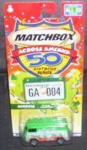 Matchbox Across America GEORGIA VW PANEL TRANSPORTER Diecast - $6.96