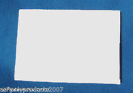 """SQUARE BLANK SCALE 6.75""""X6.75""""X3/4"""" FauxIvory for carving, jewelry, scri... - $16.95"""