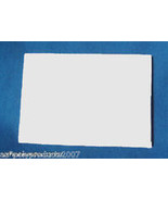 "SQUARE BLANK SCALE 6.75""X6.75""X3/4"" FauxIvory for carving, jewelry, scri... - $16.95"
