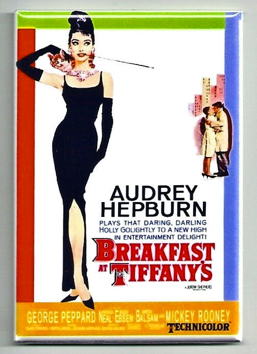 Breakfast at tiffany s poster magnet