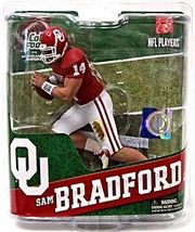 SAM BRADFORD McFarlane COLLEGE FOOTBALL Sportspicks SERIES 4 Sooners NIB - $22.99