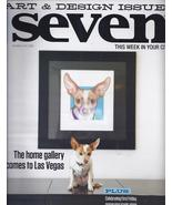 ART & DESIGN ISSUE  @ VEGAS SEVEN  Magazine OCT 2012 - $3.95