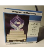 Lighted Base (Color Changing) For Etched Glass Cubes  - $4.00