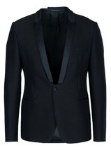 EMPORIO ARMANI Matt Line Blazer Jacket Size 54/Fits like L/XL Made in Italy $975 - $199.75