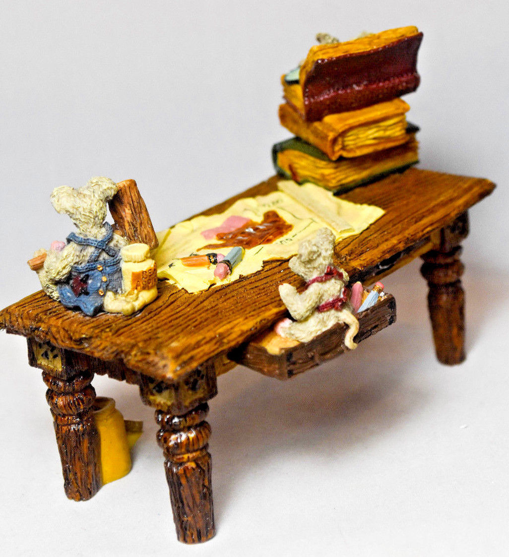 Boyds Bears: Noah's Genius At Work Table - Style 2429 image 4