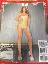 Adult Womens 2Pc Golden Bunny Costume - $36.93