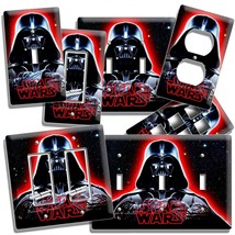 Darth Vader Red Glow Star Wars Dark Force Light Switch Outlet Wall Plate Cover - $9.99+