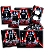 DARTH VADER RED GLOW STAR WARS DARK FORCE LIGHT SWITCH OUTLET WALL PLATE... - $8.09+