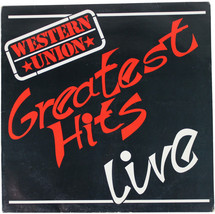 WESTERN UNION Greatest Hits Live 1987 LP SIGNED All 6 Members 80s German... - $23.36