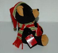 Sterling Inc Shaky Bear Stocking Cap Bells Plays Jingle Bell Rock image 4