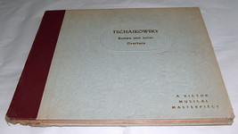 Tschaikowsky Romeo and Juliet Overture Victor Music 78 Record Album Set ... - $10.33