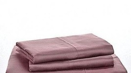 $90 Ralph Lauren Prescott Standard Pillowcases 500TC Supima Sateen Purpl... - $44.55