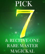 SPECIAL BUNDLE!! PICK ANY 7 FOR $367 & RECEIVE A MASTER MAGICKAL FREE MAGICK  - $333.00