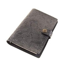 Genuine Leather Planner 6 Hole A6 Binder Refillable Diary Journal Diary Notepad