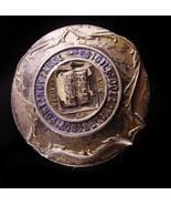 1800s Antique Hatpin / Yale University Lux Et Veritas / Vintage college ... - $275.00