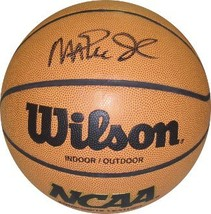 Magic Johnson signed NCAA Wilson Indoor/Outdoor Basketball (Michigan Sta... - $154.95