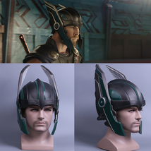Thor 3 Ragnarök Helmet Chris Hemsworth Cosplay PVC Helmet Handmade Mask New - £42.24 GBP+