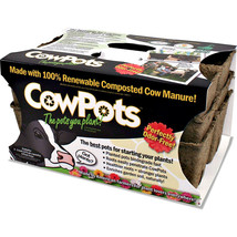 Cowpots Sixcell Cowpots 3pots/pack 3 Inch - $21.07