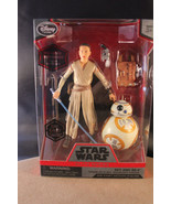 Disney Star Wars Rey And BB-8 Elite Series Die Cast Action Figures - New - $12.11