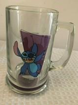"Disney Lilo and Stitch Glass Rare 5"" STITCH Disney collectible glass STITCH - $17.05"