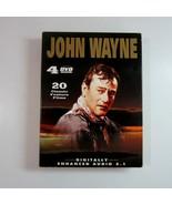 John Wayne 20 Classic Black & White Feature Films DVD Set  - 4 Discs - $14.49