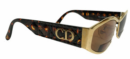Vintage Christian Dior Gold Metal tone & Plastic Eyeglass Frames 58-15-135 - $160.97