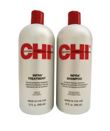 CHI Infra Duo Shampoo & Treatment Set 32 OZ - $34.39