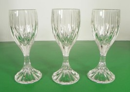 Mikasa Crystal PARK LANE Cordial Glass Goblet (s) LOT OF 3 Made in Germa... - $34.60