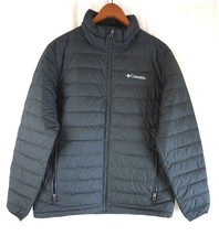 NEW COLUMBIA Men's Blk Oyanta Trail Thermal Coil Lightweight Insulated Jacket M - $111.31