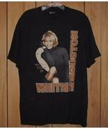 Whitney Houston Concert Tour T Shirt Vintage 1999 - $199.99