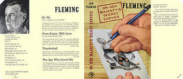 Fleming-Facsimile -umschlag 1. 1963 UK Ausgabe On Her MAJESTY'S Secret S... - $22.61