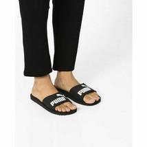 Puma Mens Purecat Slides Black/White Sandals - $41.96