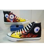 Converse Chuck Taylor All Star Hi Top Flame 1H731 Hot Rod Ignite Fire M ... - $89.09
