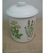 Extra Large Canister Jar Herb Rosemary Parsley Thyme Certified Internati... - $35.96