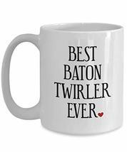 Baton Twirler Performer Large White Coffee Tea Mug Cup - Birthday Day Id... - $19.77